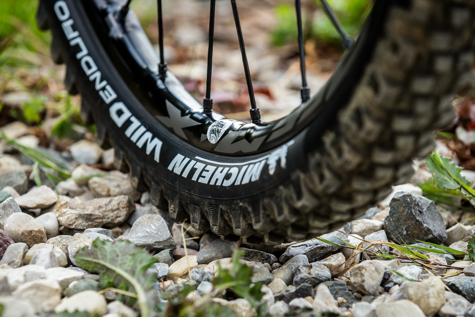 Michelin Wild Enduro Prototype Front Tire - WINNING BIKE - Sam Hill's Nukeproof Mega 275 - Mountain Biking Pictures - Vital MTB