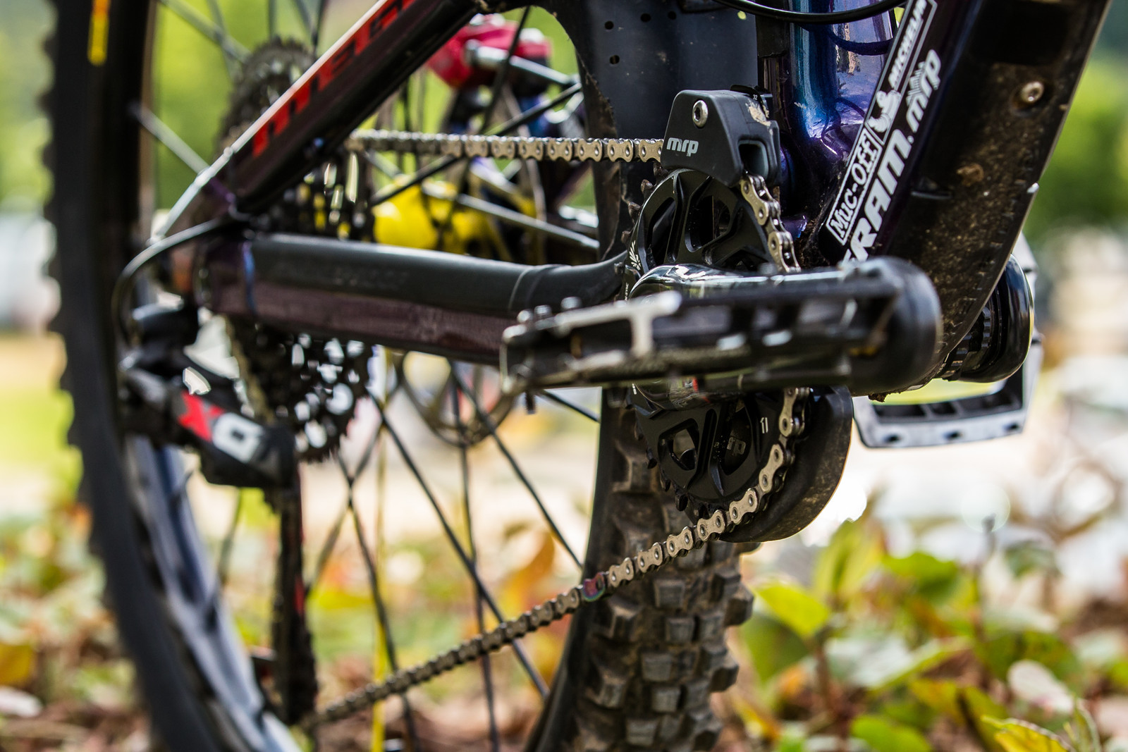 MRP for Safety - WINNING BIKE - Sam Hill's Nukeproof Mega 275 - Mountain Biking Pictures - Vital MTB