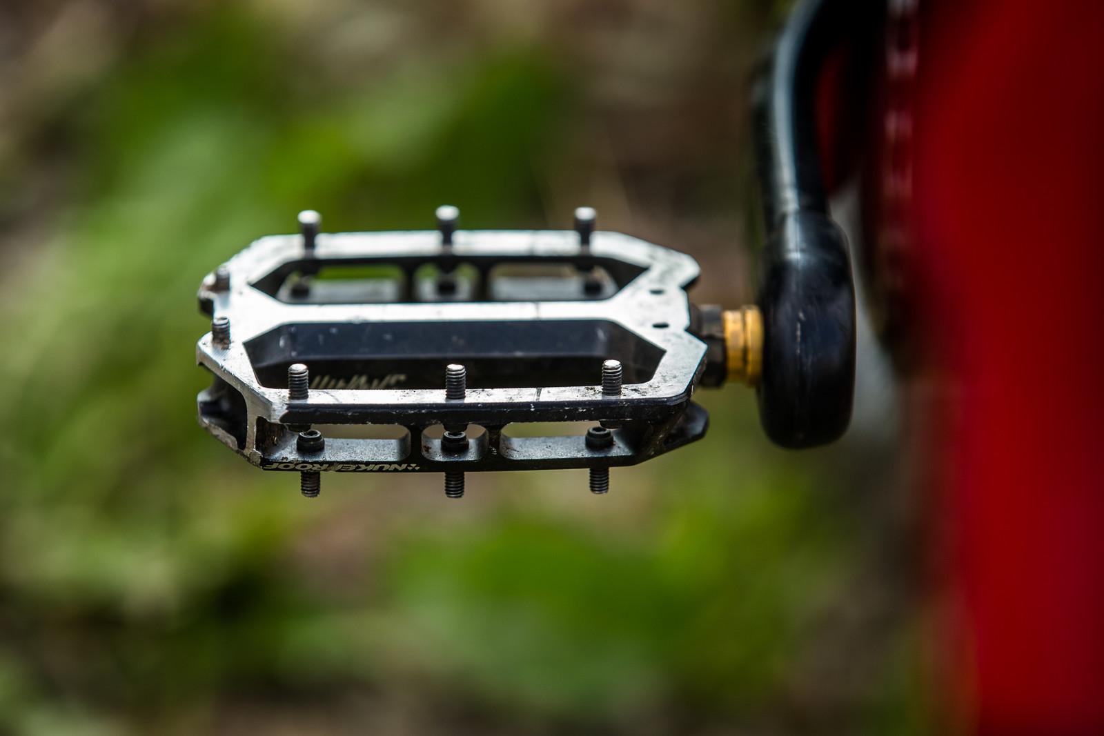 Nasty Pins for the Biggest Wins - WINNING BIKE - Sam Hill's Nukeproof Mega 275 - Mountain Biking Pictures - Vital MTB