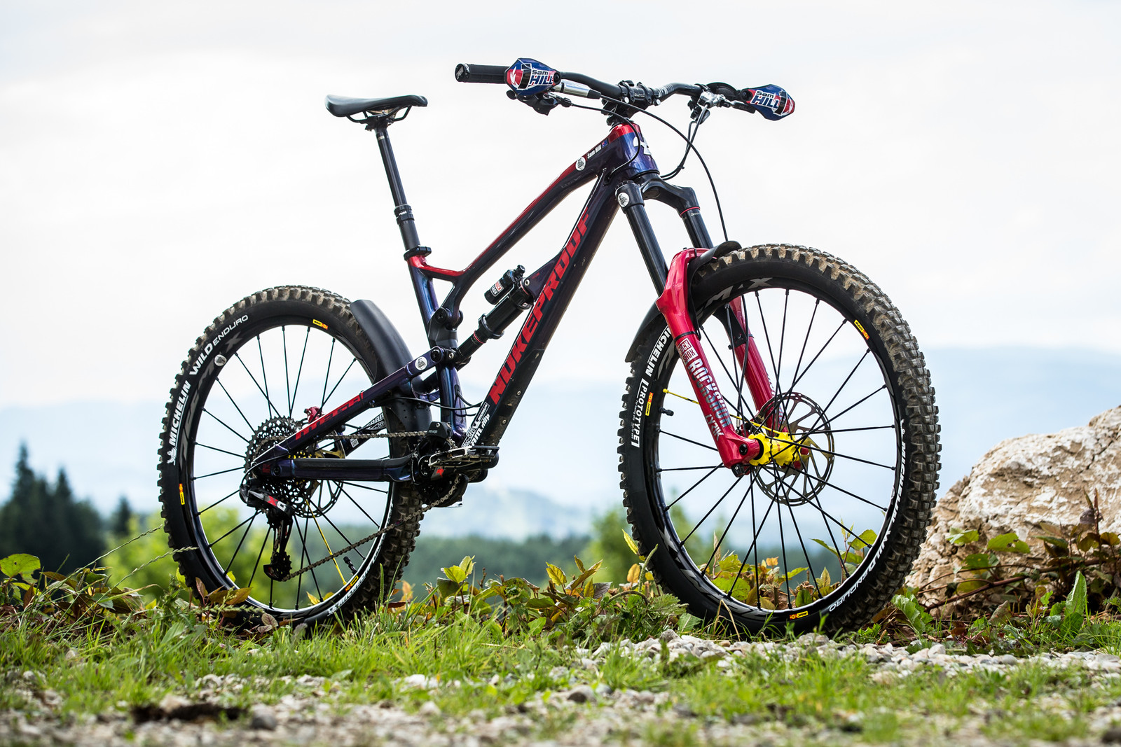 WINNING BIKE - Sam Hill's Nukeproof Mega 275 - WINNING BIKE - Sam Hill's Nukeproof Mega 275 - Mountain Biking Pictures - Vital MTB