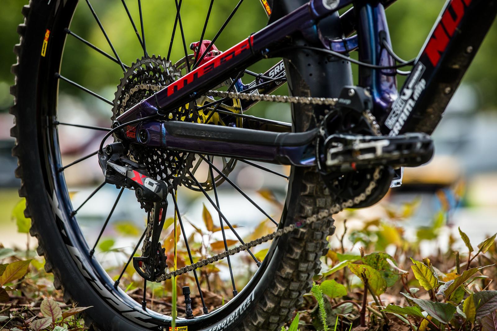 SRAM X01 Eagle Drivetrain - WINNING BIKE - Sam Hill's Nukeproof Mega 275 - Mountain Biking Pictures - Vital MTB