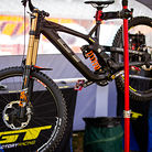 Joey Foresta's GT DH bike.