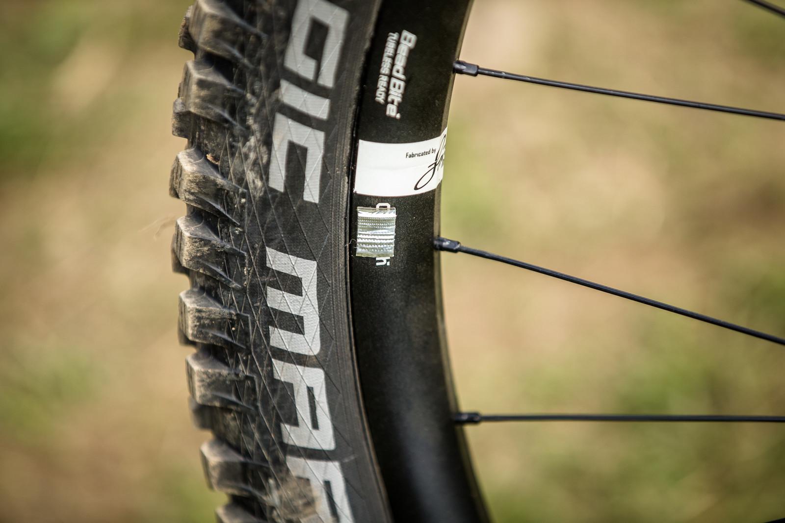 Wizard Stickers? - WINNING BIKE - Amaury Pierron's Commencal Supreme DH 29 - Mountain Biking Pictures - Vital MTB