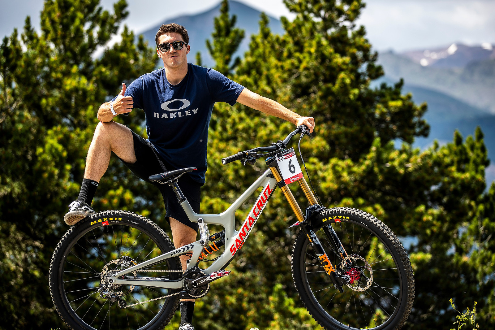 PIT BITS - Andorra World Cup - Luca Shaw's Santa Cruz V10 - PIT BITS - Andorra World Cup Downhill - Mountain Biking Pictures - Vital MTB