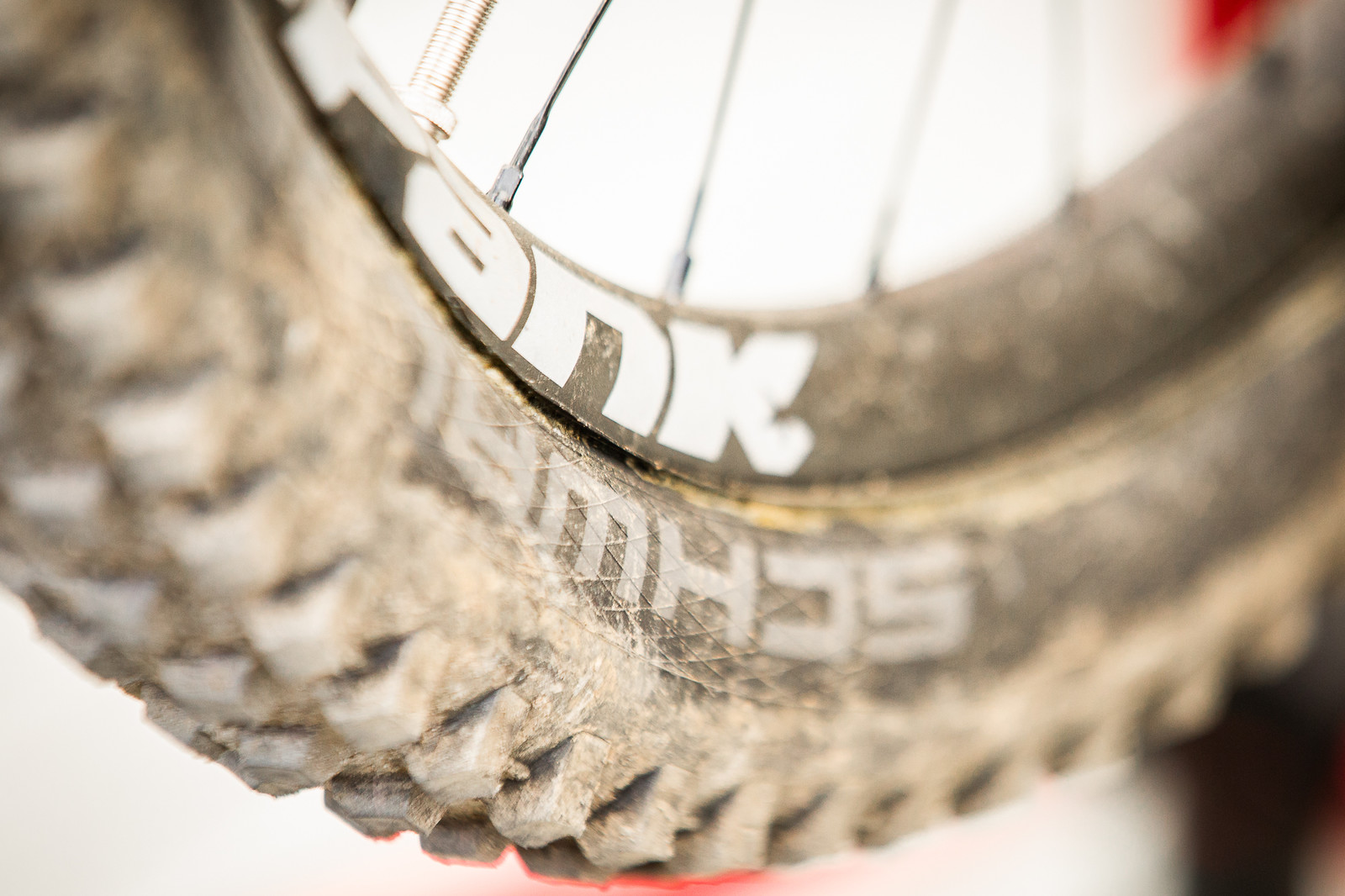 Ghetto Tubeless at Commencal - PIT BITS - Andorra World Cup Downhill - Mountain Biking Pictures - Vital MTB