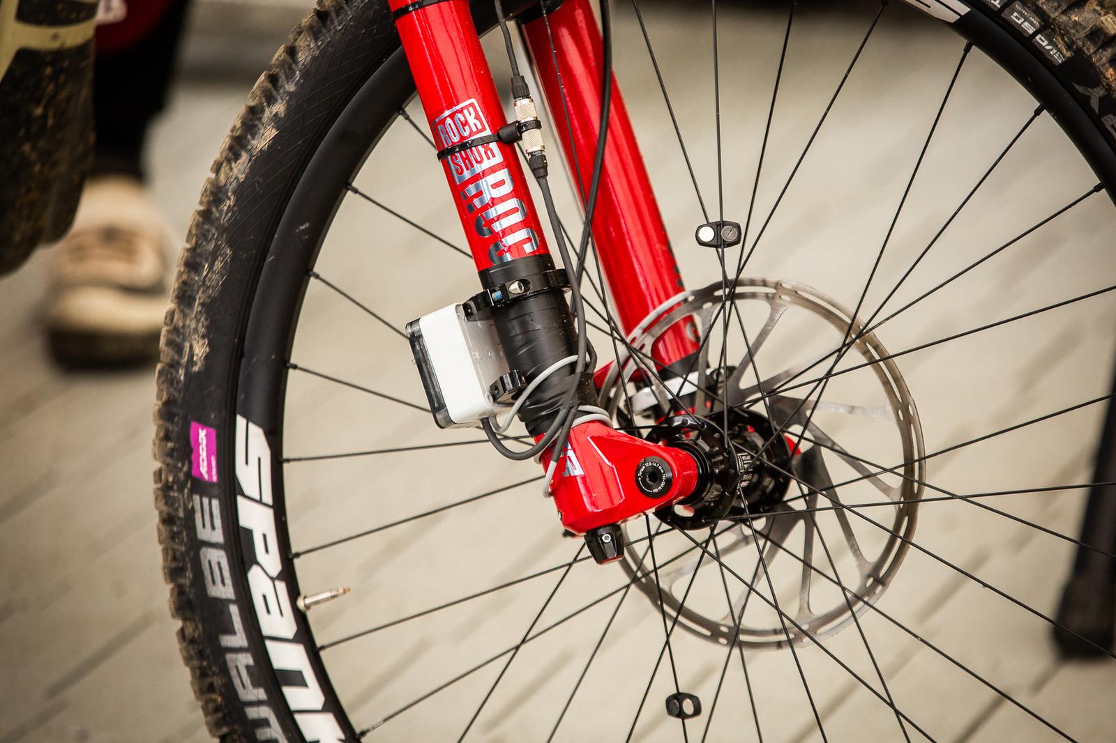 Amaury Pierron's Data Acquisition - PIT BITS - Andorra World Cup Downhill - Mountain Biking Pictures - Vital MTB