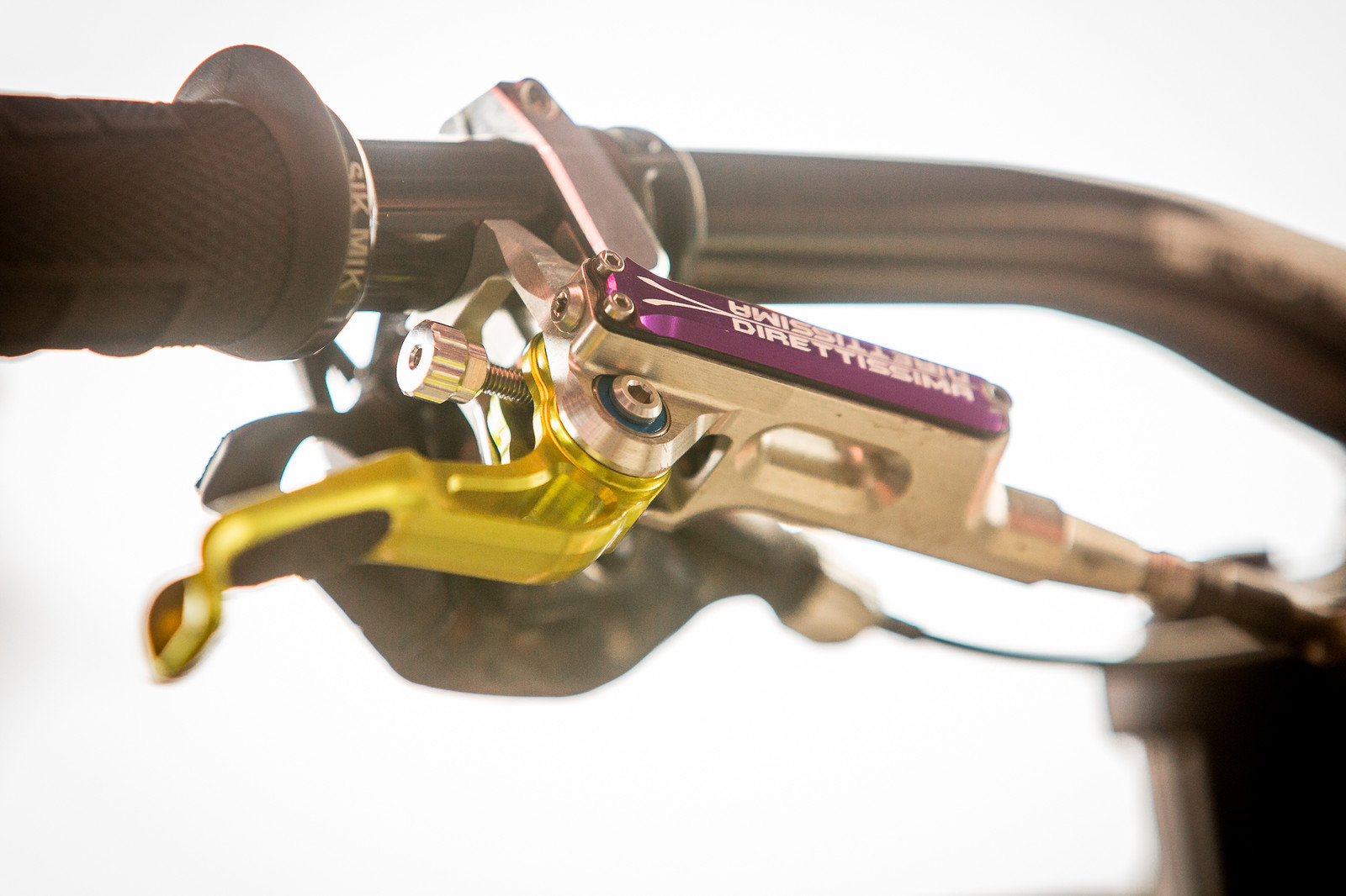 Trickstuff's New Maxima Brake - PIT BITS - Andorra World Cup Downhill - Mountain Biking Pictures - Vital MTB