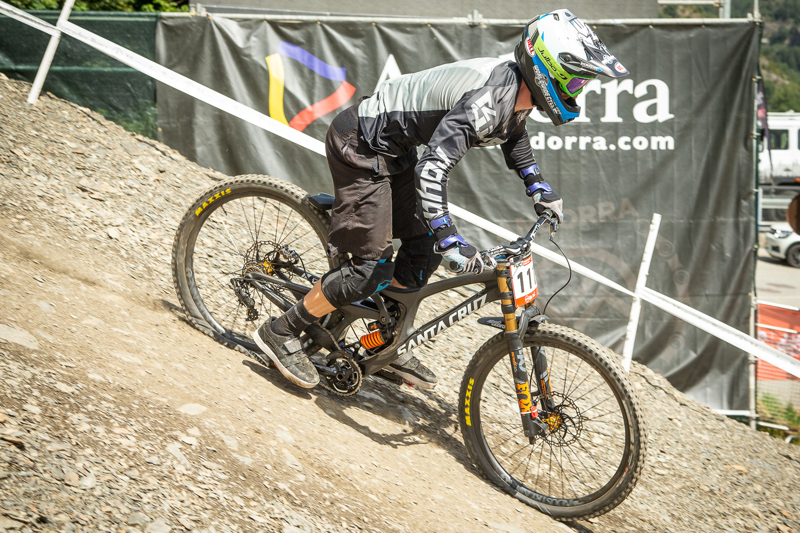 Santa Cruz V10 - G-Out Project - Andorra World Cup DH - Mountain Biking Pictures - Vital MTB