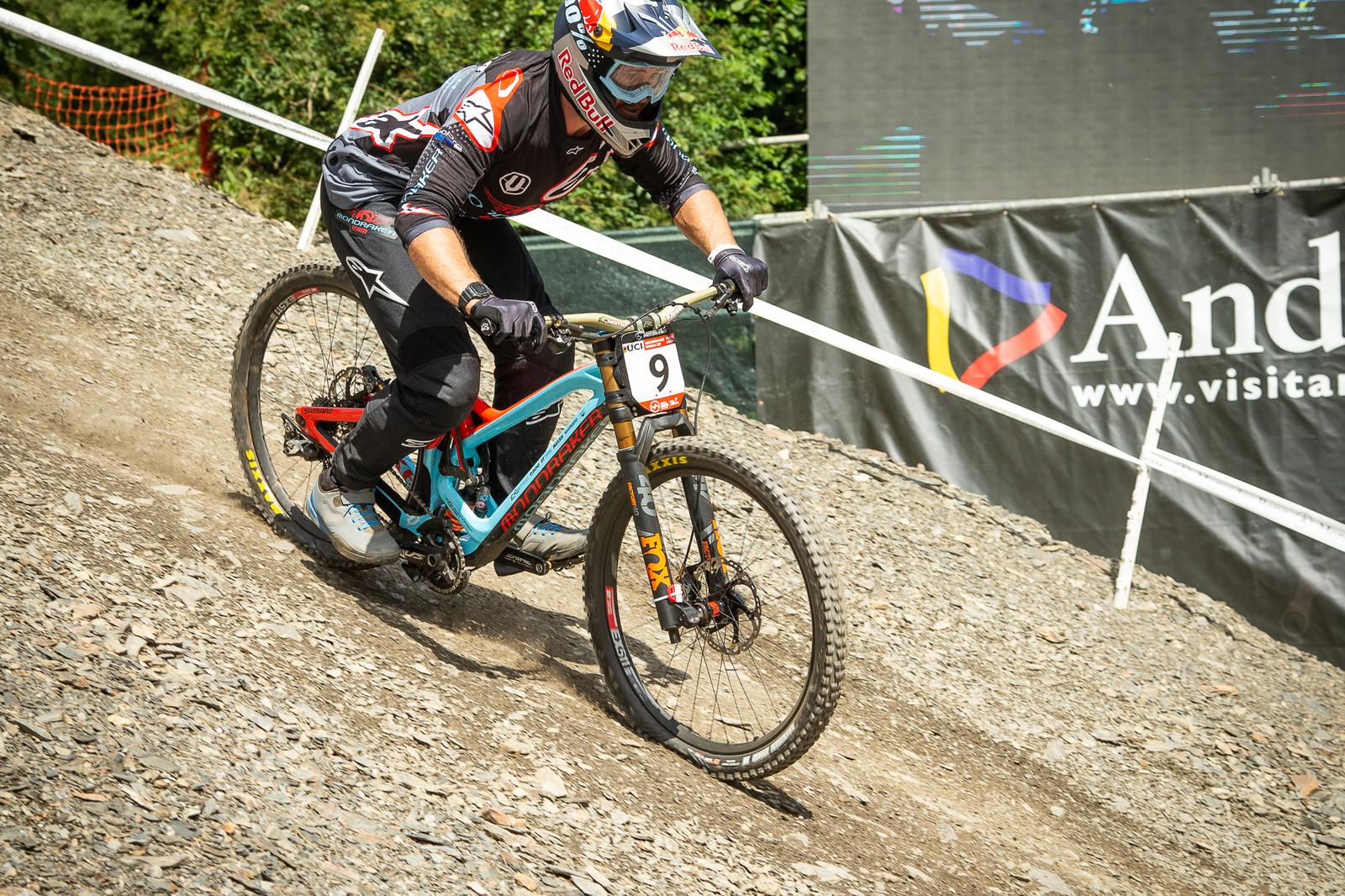 Brook MacDonald Mondraker Summum - G-Out Project - Andorra World Cup DH - Mountain Biking Pictures - Vital MTB