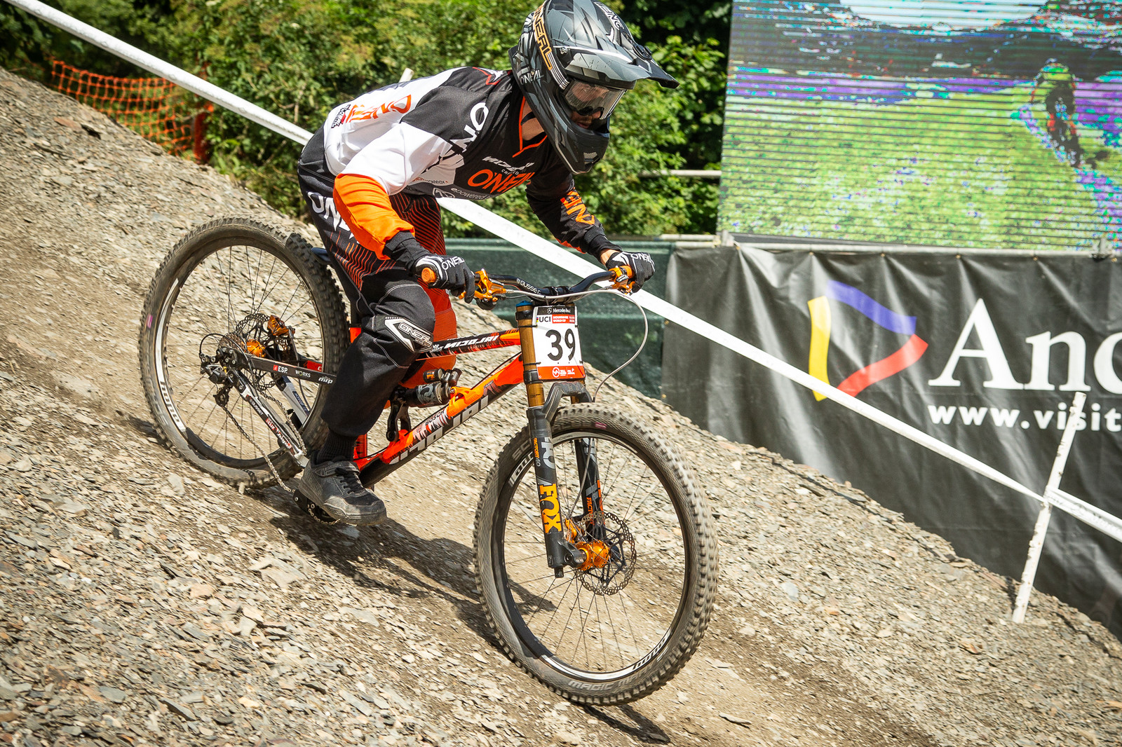 George Gannicott Nicolai - G-Out Project - Andorra World Cup DH - Mountain Biking Pictures - Vital MTB