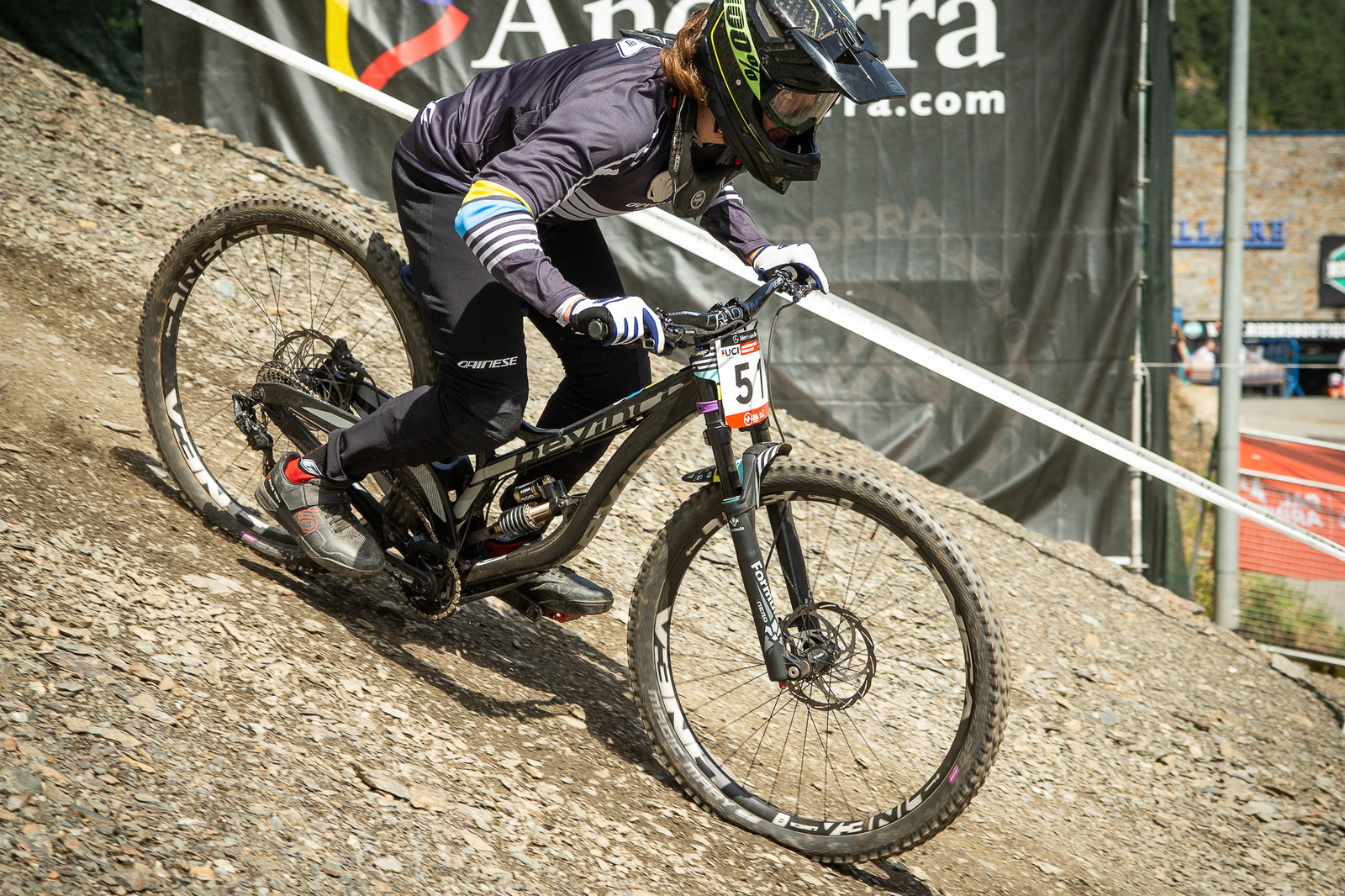 Loris Revelli Devinci Wilson - G-Out Project - Andorra World Cup DH - Mountain Biking Pictures - Vital MTB