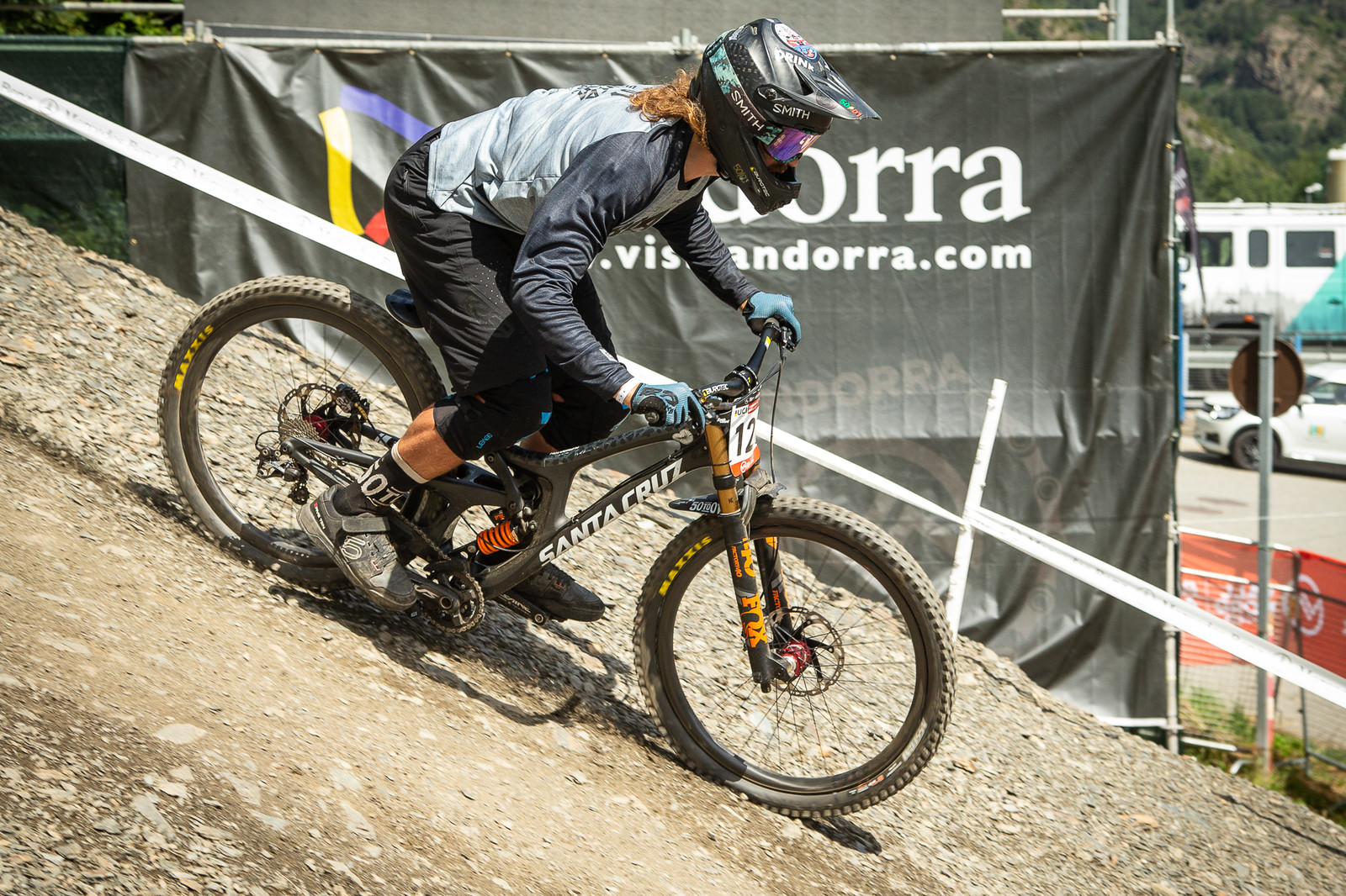 Sam Dale Santa Cruz V10 - G-Out Project - Andorra World Cup DH - Mountain Biking Pictures - Vital MTB