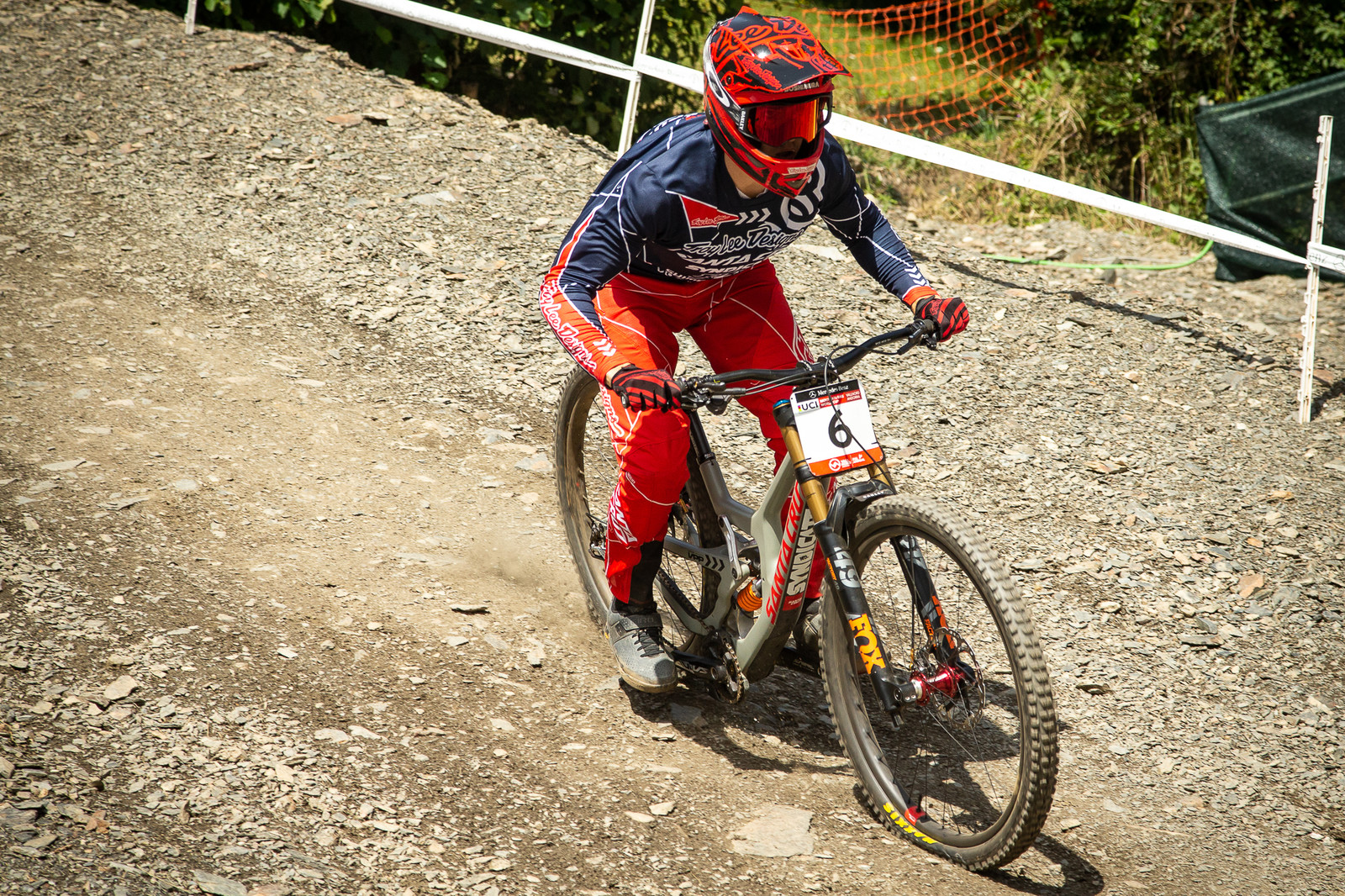 Luca Shaw Santa Cruz V10 - G-Out Project - Andorra World Cup DH - Mountain Biking Pictures - Vital MTB