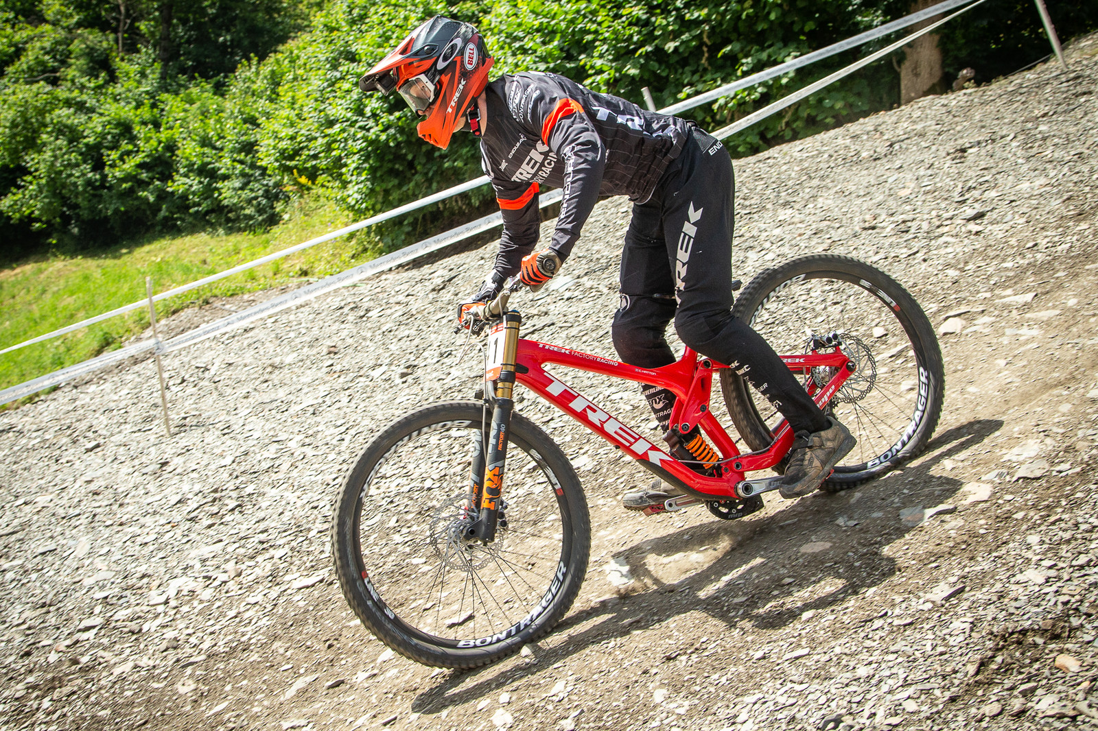 Charlie Hatton Trek Session - G-Out Project - Andorra World Cup DH - Mountain Biking Pictures - Vital MTB