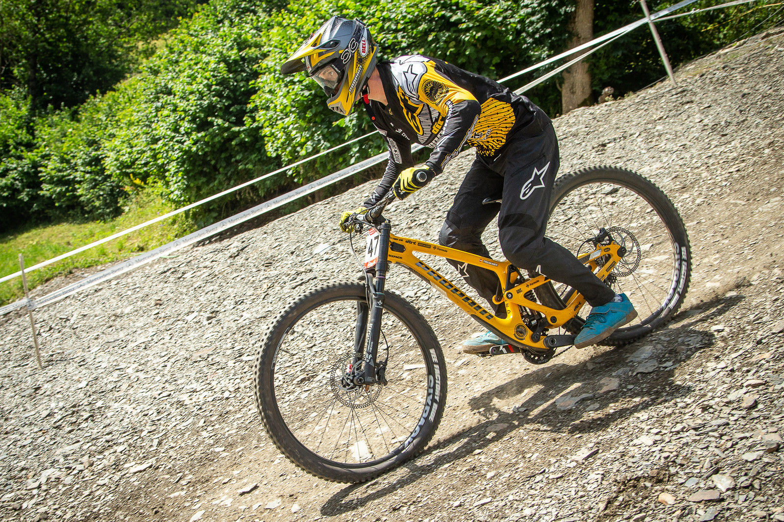 David Trummer Propain - G-Out Project - Andorra World Cup DH - Mountain Biking Pictures - Vital MTB