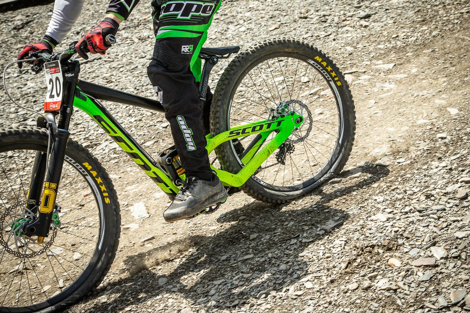 Adam Brayton Scott Gambler.  - G-Out Project - Andorra World Cup DH - Mountain Biking Pictures - Vital MTB