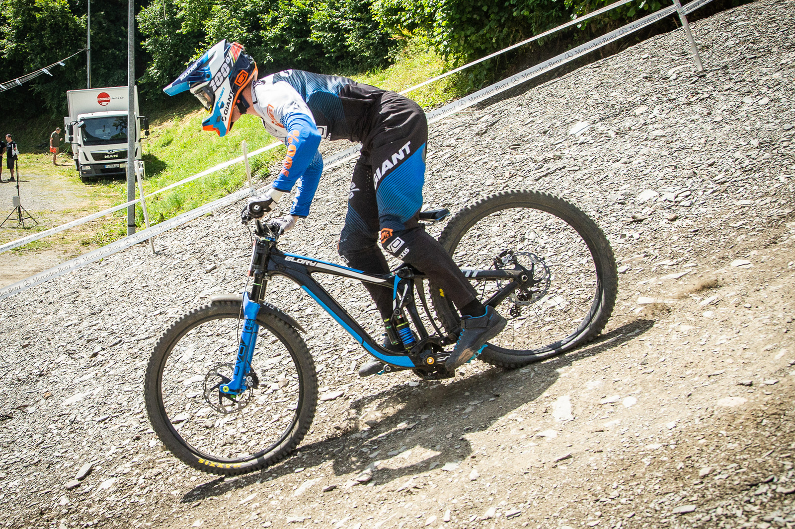 Jacob Dickson Giant Glory - G-Out Project - Andorra World Cup DH - Mountain Biking Pictures - Vital MTB