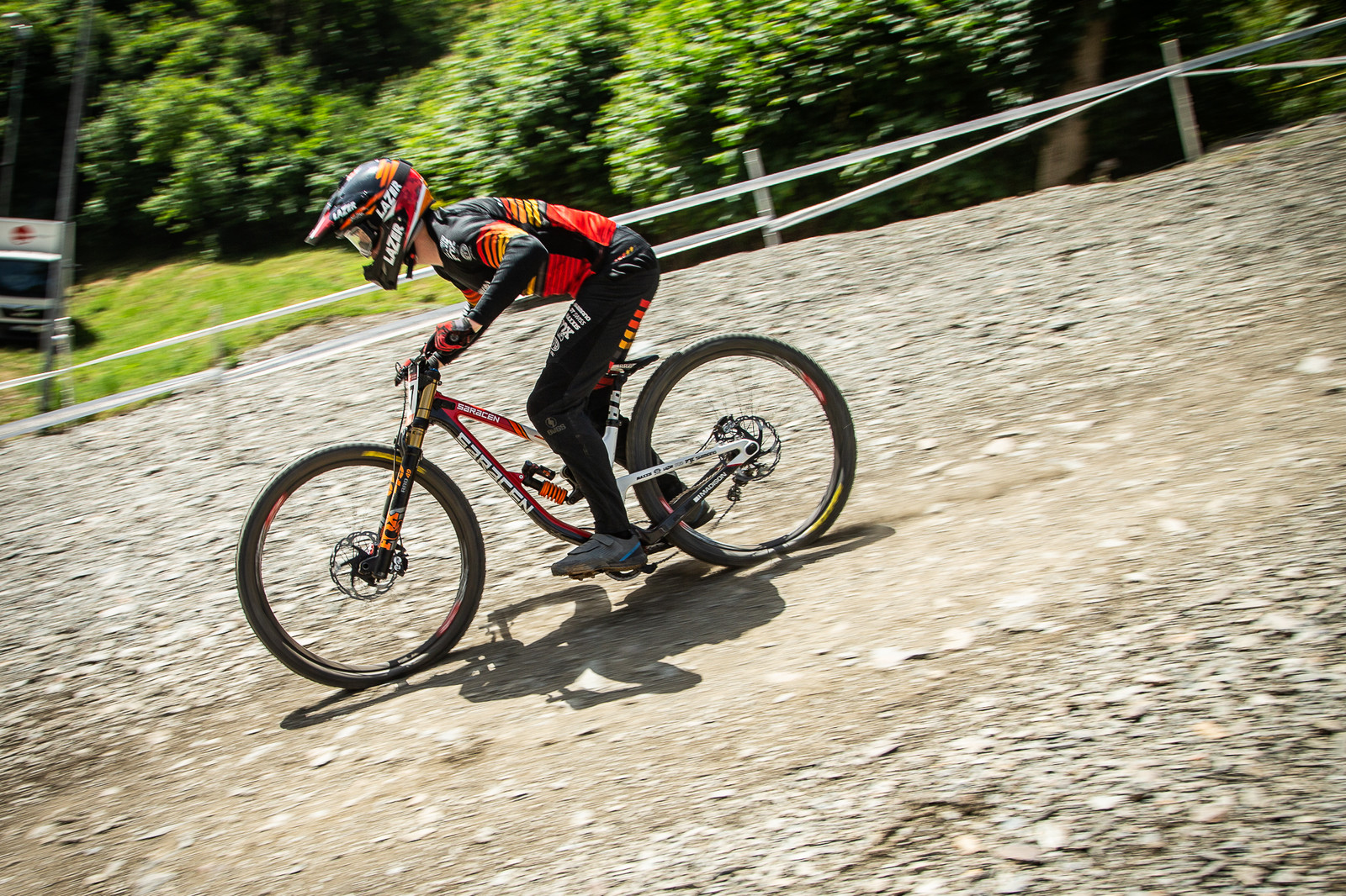 Saracen Myst - G-Out Project - Andorra World Cup DH - Mountain Biking Pictures - Vital MTB