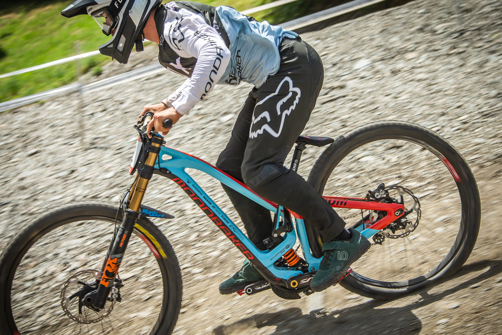 Laurie Greenland Mondraker Summum - G-Out Project - Andorra World Cup DH - Mountain Biking Pictures - Vital MTB
