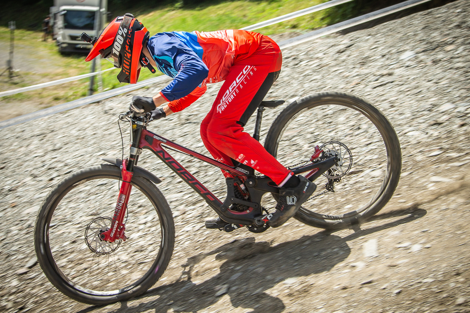 Henry Fitzgerald Norco Aurum HSP - G-Out Project - Andorra World Cup DH - Mountain Biking Pictures - Vital MTB