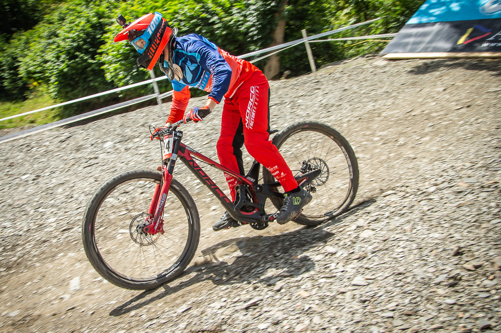 Joe Smith Norco Aurum HSP - G-Out Project - Andorra World Cup DH - Mountain Biking Pictures - Vital MTB