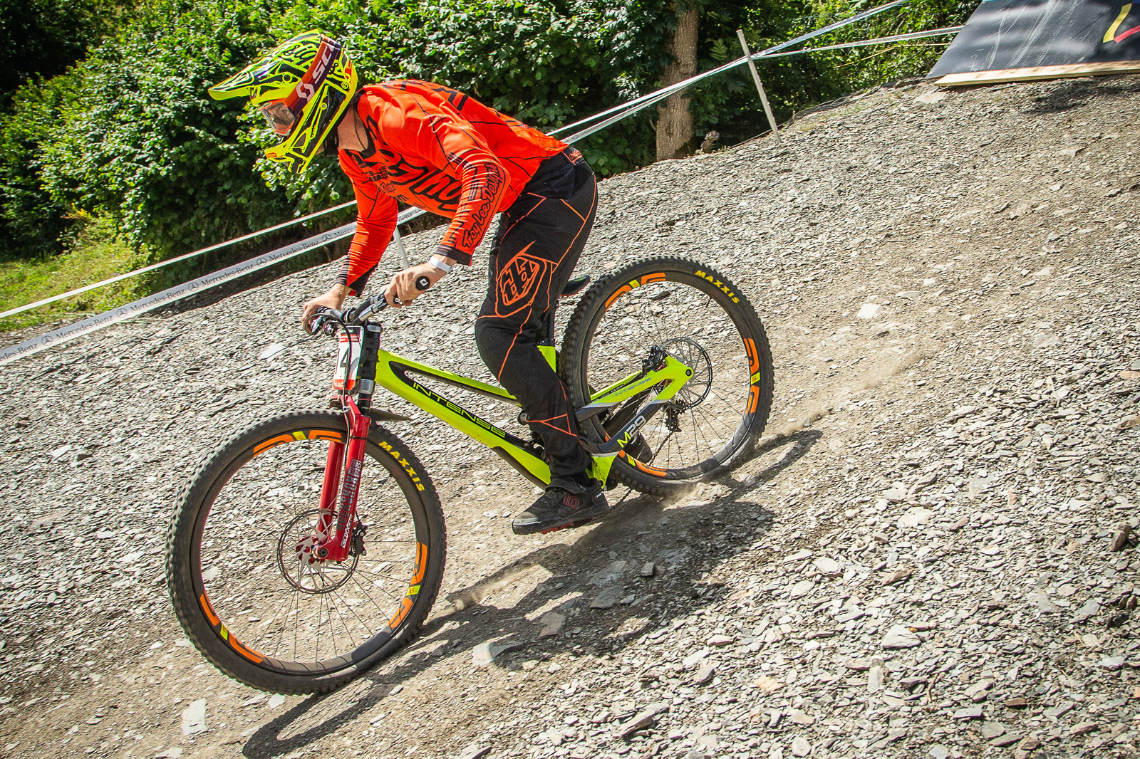 Charlie Harrison Intense M29 - G-Out Project - Andorra World Cup DH - Mountain Biking Pictures - Vital MTB