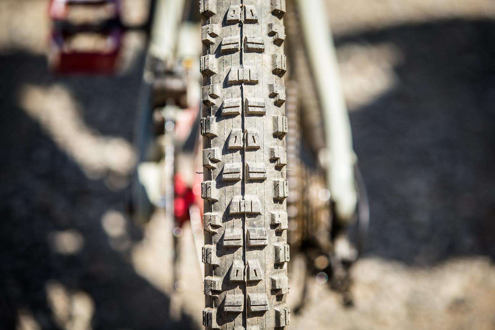 Maxxis Minion DHR II Rear Tire - WINNING BIKE - Loris Vergier's Santa Cruz V10cc 29 - Mountain Biking Pictures - Vital MTB