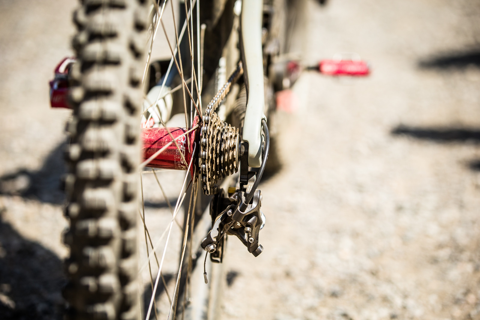 Chris King Hubs, Shimano Saint Drivetrain - WINNING BIKE - Loris Vergier's Santa Cruz V10cc 29 - Mountain Biking Pictures - Vital MTB