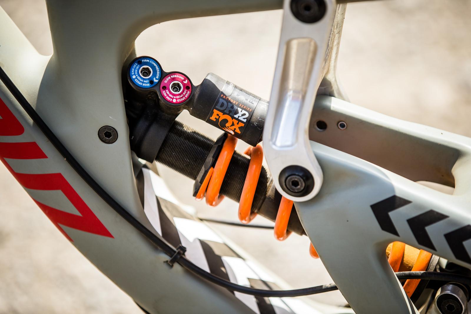 FOX DHX2 Coil - WINNING BIKE - Loris Vergier's Santa Cruz V10cc 29 - Mountain Biking Pictures - Vital MTB