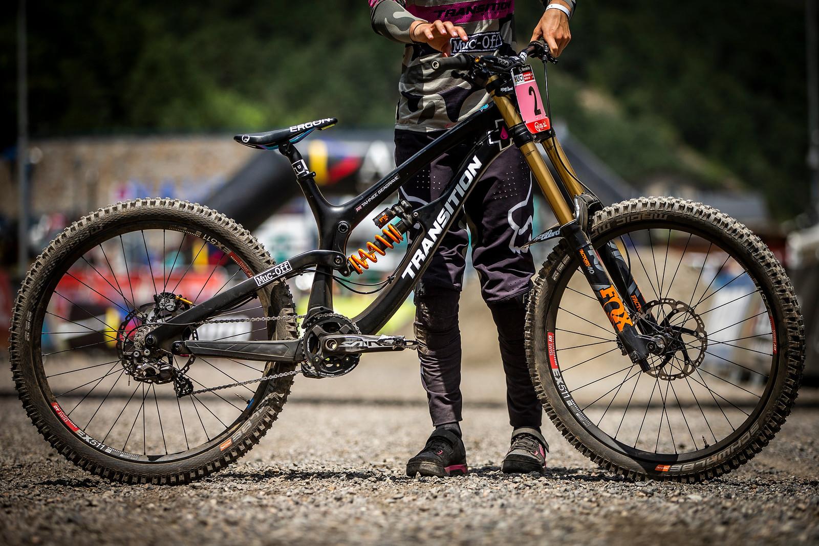 WINNING BIKE - Tahnee Seagrave's Transition TR11 - WINNING BIKE - Tahnee Seagrave's Transition TR11 - Mountain Biking Pictures - Vital MTB