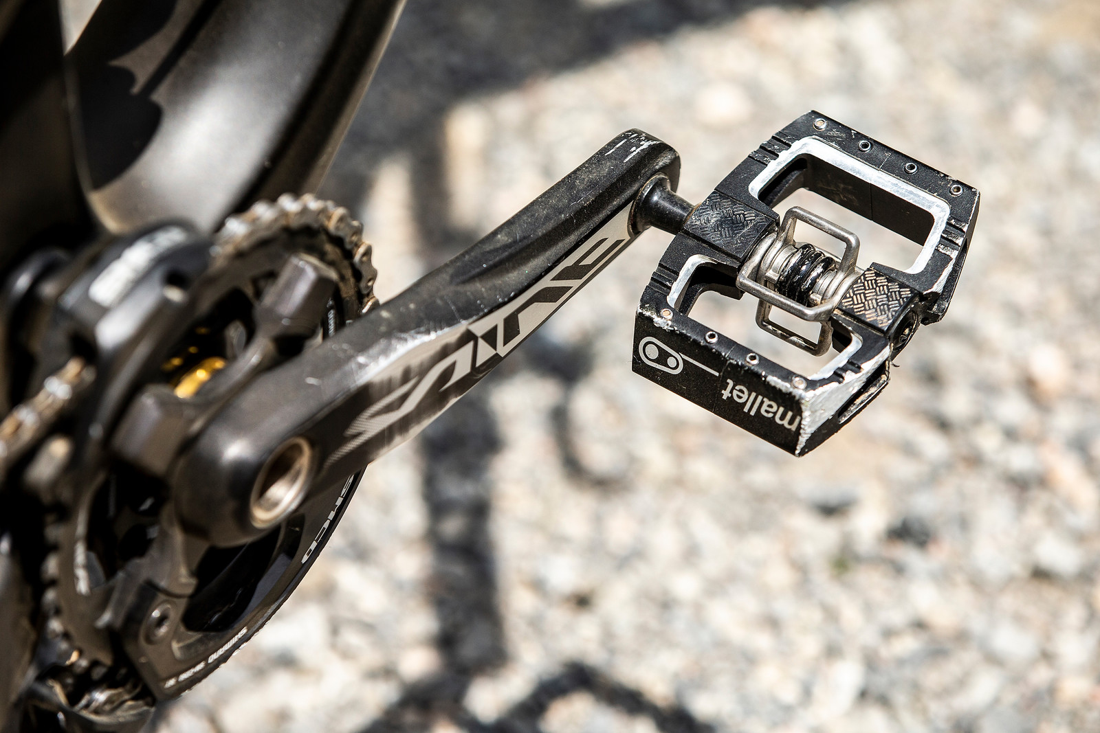 Crank Brothers Mallet DH Pedals - WINNING BIKE - Tahnee Seagrave's Transition TR11 - Mountain Biking Pictures - Vital MTB