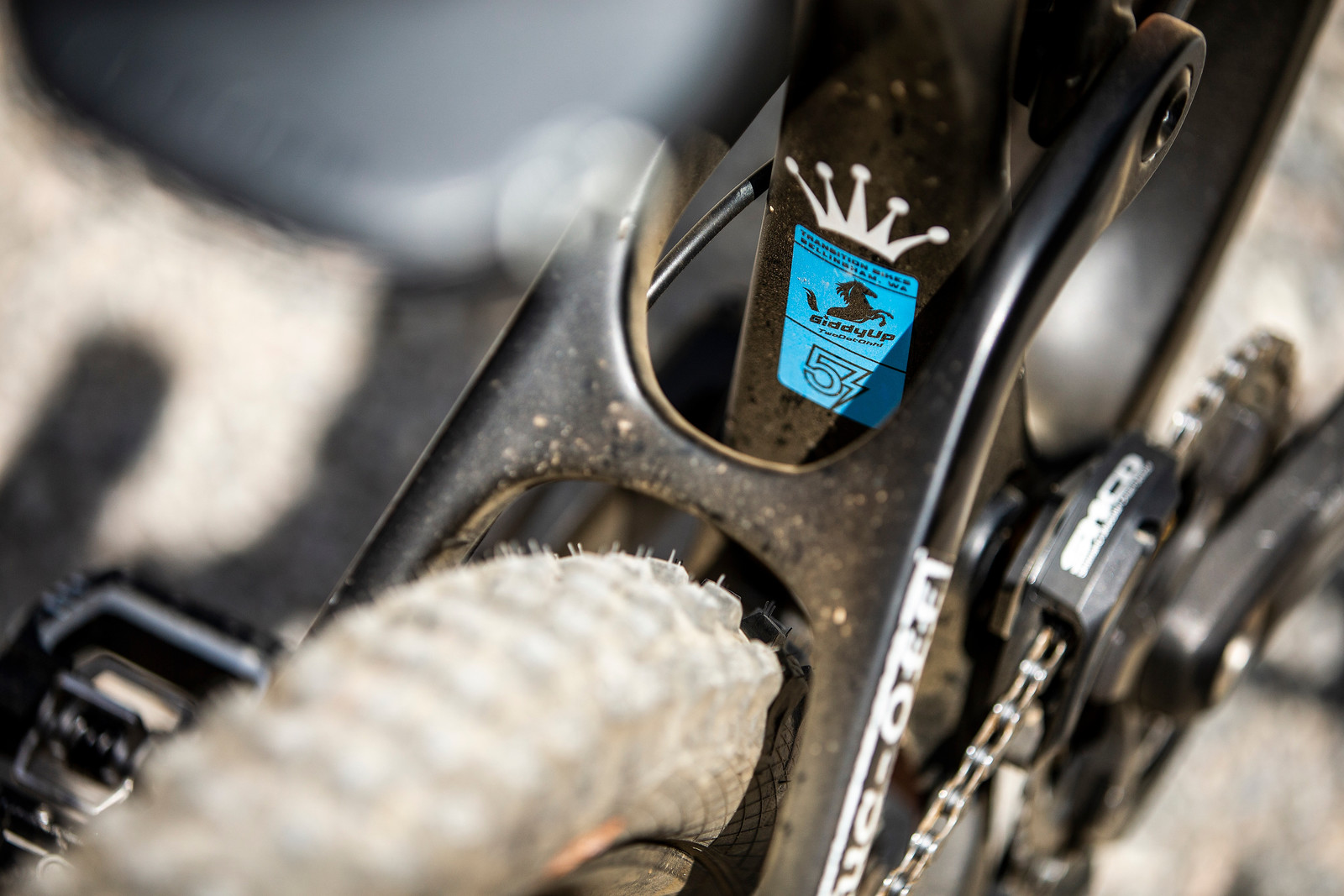 YEEHAW! - WINNING BIKE - Tahnee Seagrave's Transition TR11 - Mountain Biking Pictures - Vital MTB