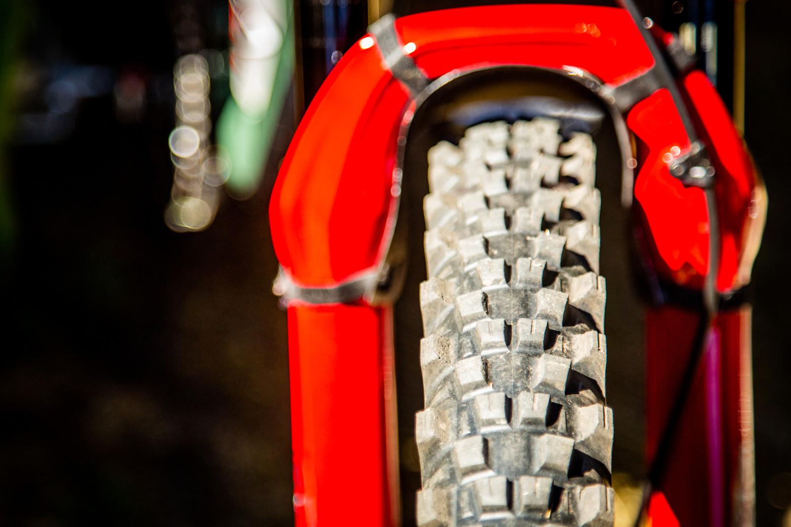 Michelin Wild Enduro Tires - PIT BITS - Enduro World Series, La Thuile - Mountain Biking Pictures - Vital MTB