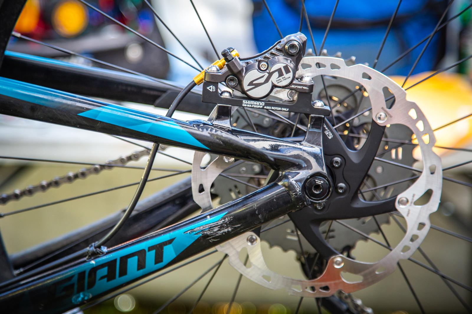 Saint Brakes - PIT BITS - Enduro World Series, La Thuile - Mountain Biking Pictures - Vital MTB
