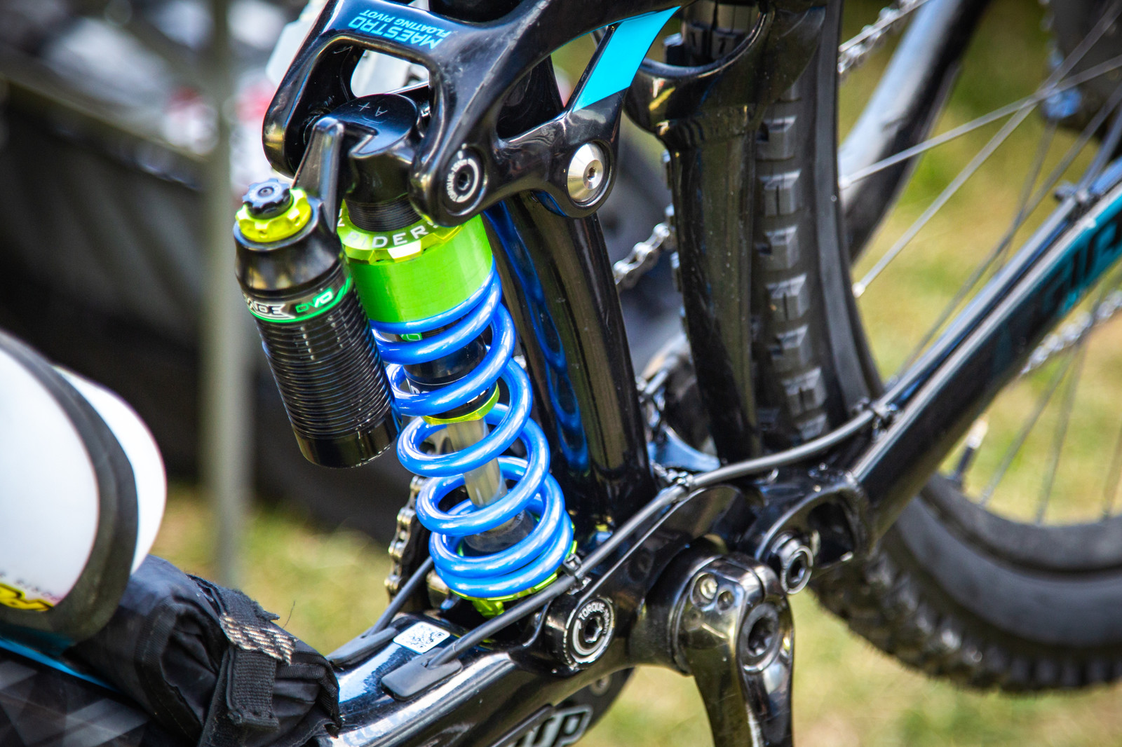 Carlson's DVO Squishiness - PIT BITS - Enduro World Series, La Thuile - Mountain Biking Pictures - Vital MTB