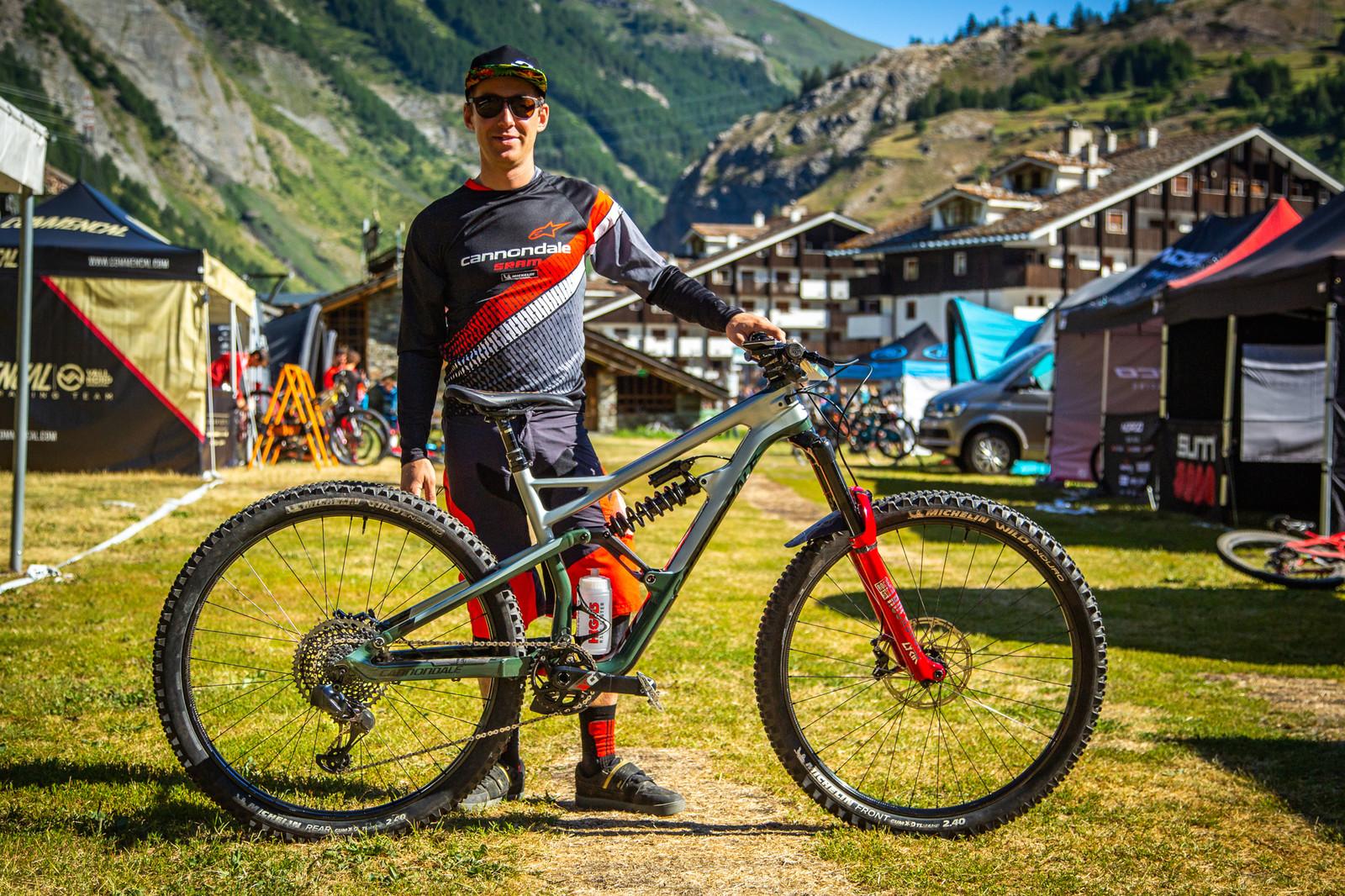 PIT BITS - Jerome Clementz's Cannondale Jekyll - PIT BITS - Enduro World Series, La Thuile - Mountain Biking Pictures - Vital MTB