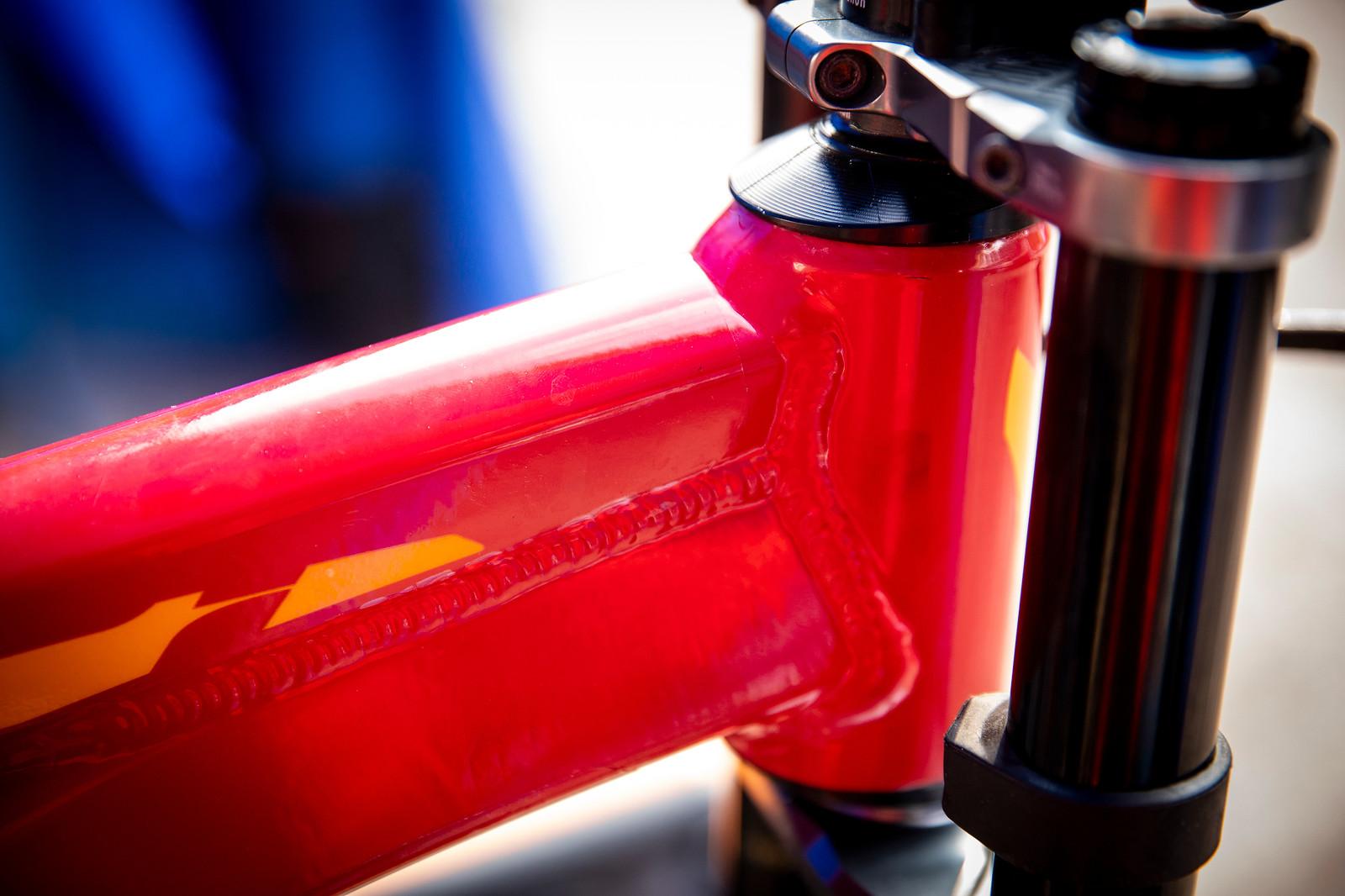 Jure Zabjek's Devinci Wilson - PIT BITS - La Bresse World Cup Downhill - Mountain Biking Pictures - Vital MTB