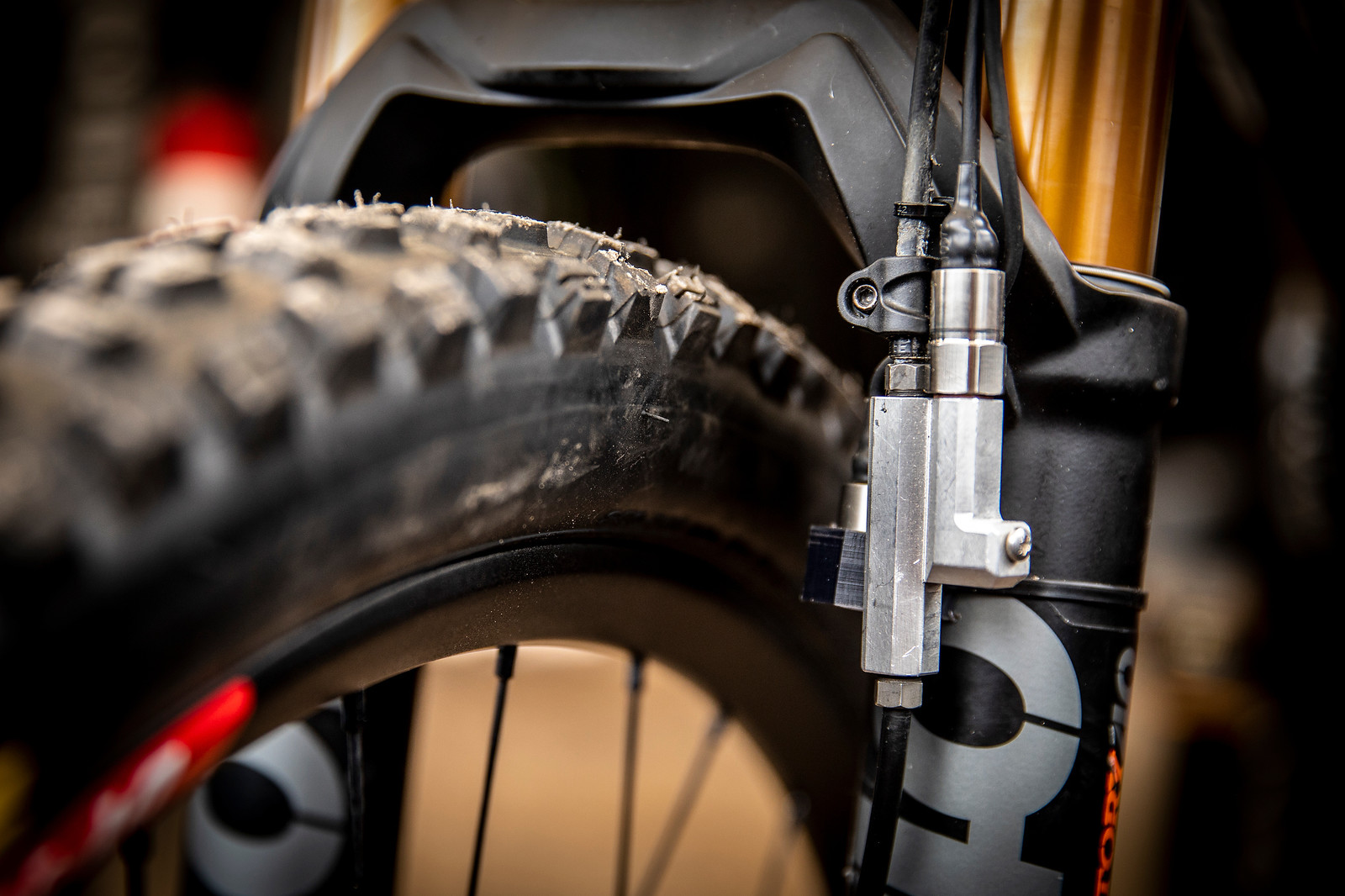 Danny Hart Data Acquisition - PIT BITS - La Bresse World Cup Downhill - Mountain Biking Pictures - Vital MTB