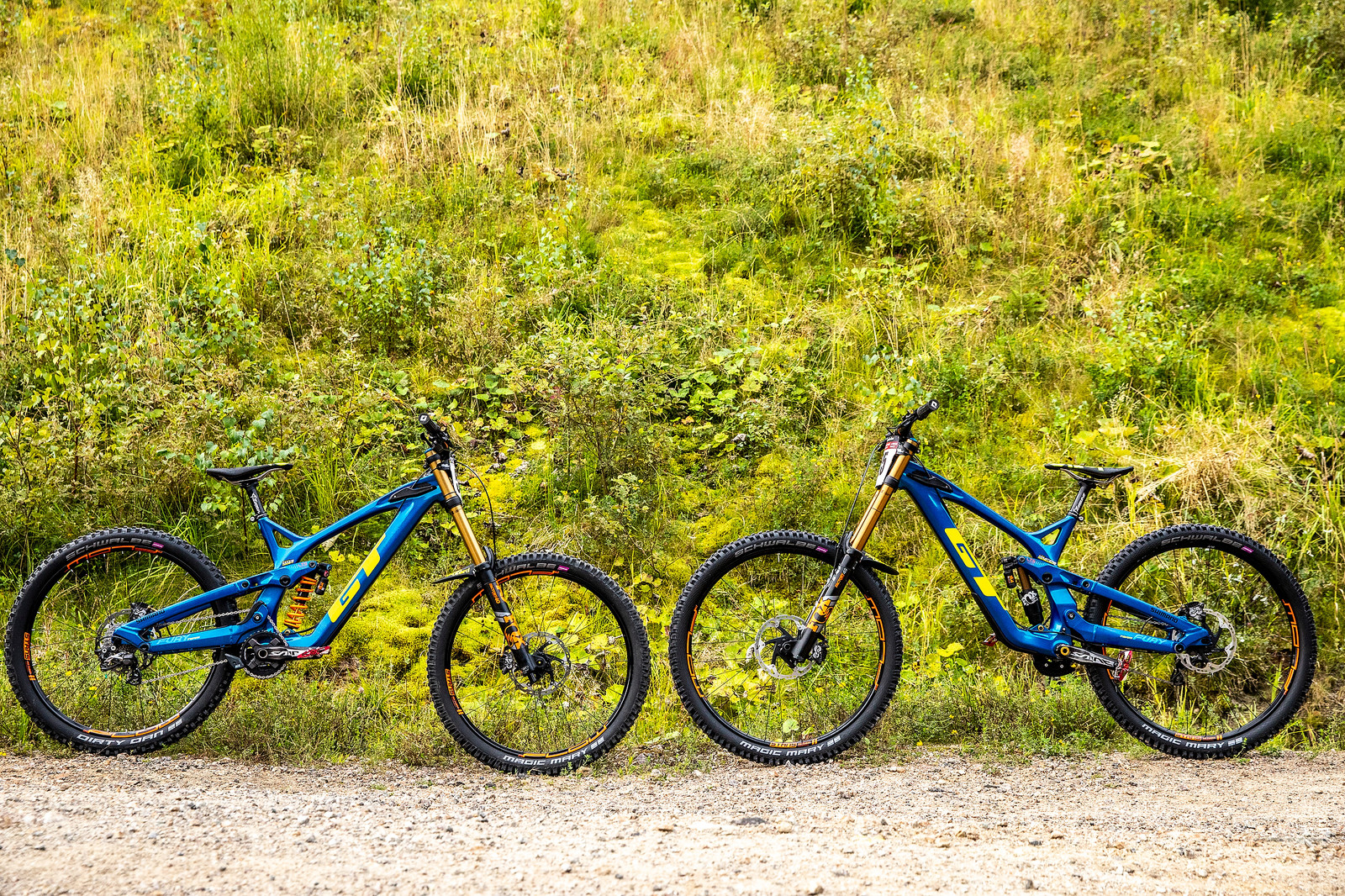 A Gaggle of GT's - PIT BITS - La Bresse World Cup Downhill - Mountain Biking Pictures - Vital MTB
