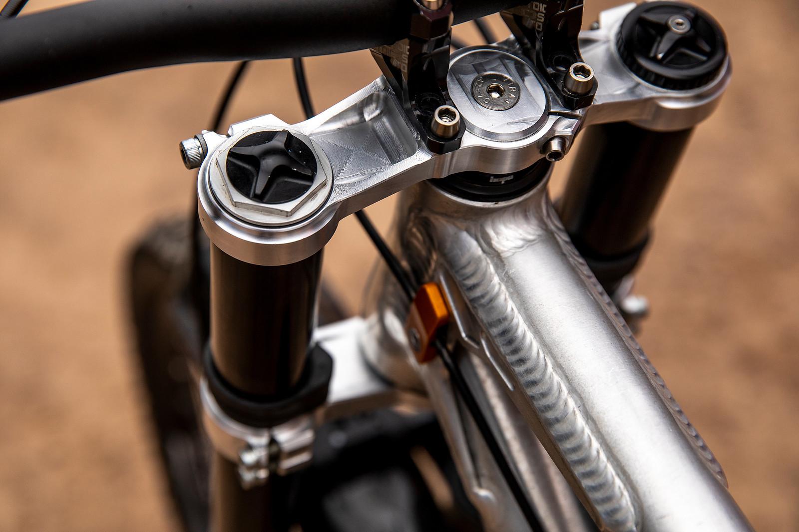 A Trek Truck Driver's Trail Bike - PIT BITS - La Bresse World Cup Downhill - Mountain Biking Pictures - Vital MTB
