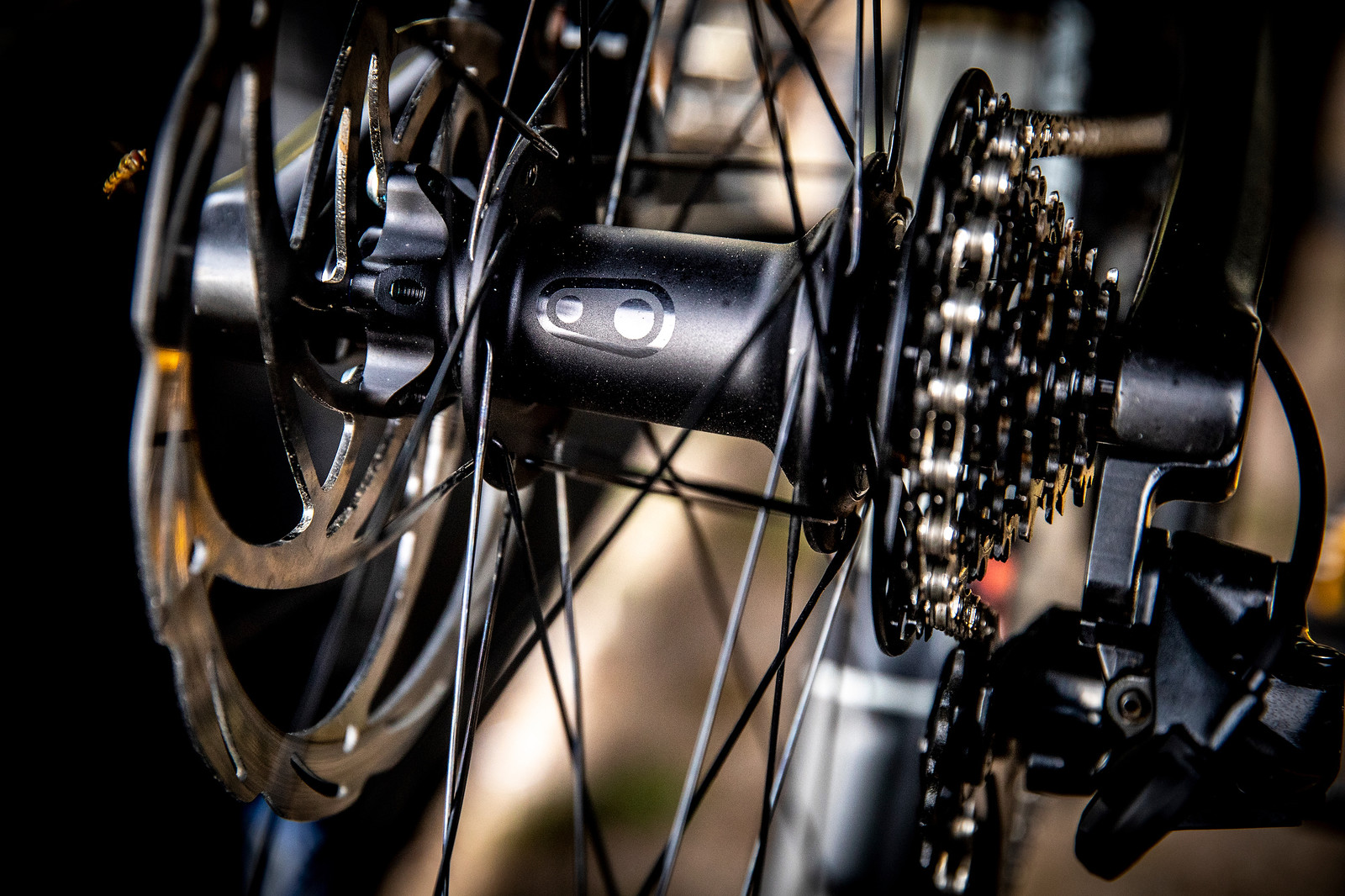 Crankbrothers Carbon Wheel Near Production - PIT BITS - La Bresse World Cup Downhill - Mountain Biking Pictures - Vital MTB