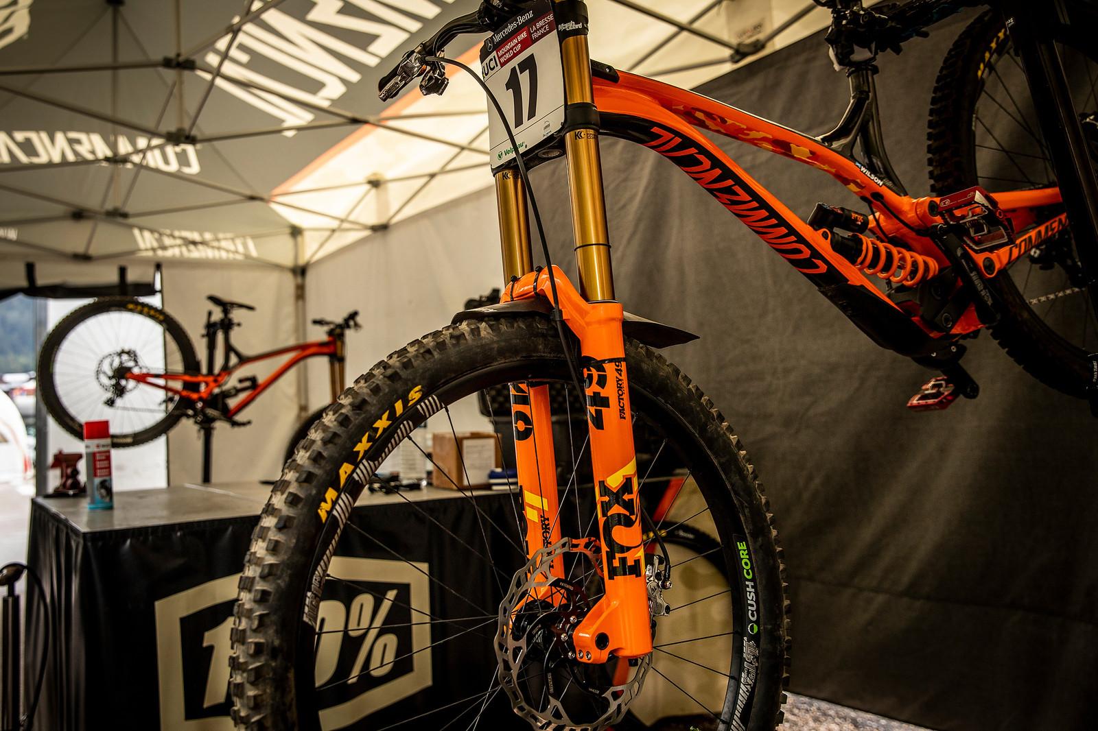 More Orange - PIT BITS - La Bresse World Cup Downhill - Mountain Biking Pictures - Vital MTB