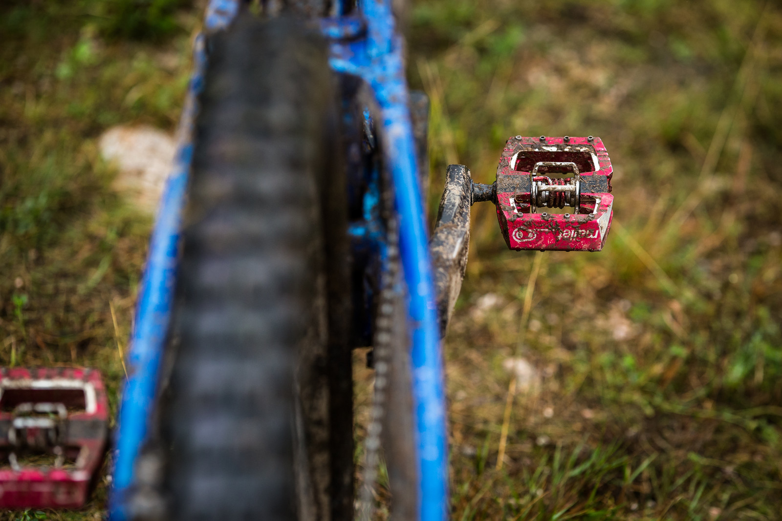 Crank Brothers Mallet DH Pedals - WINNING BIKE - Martin Maes' GT Fury - Mountain Biking Pictures - Vital MTB