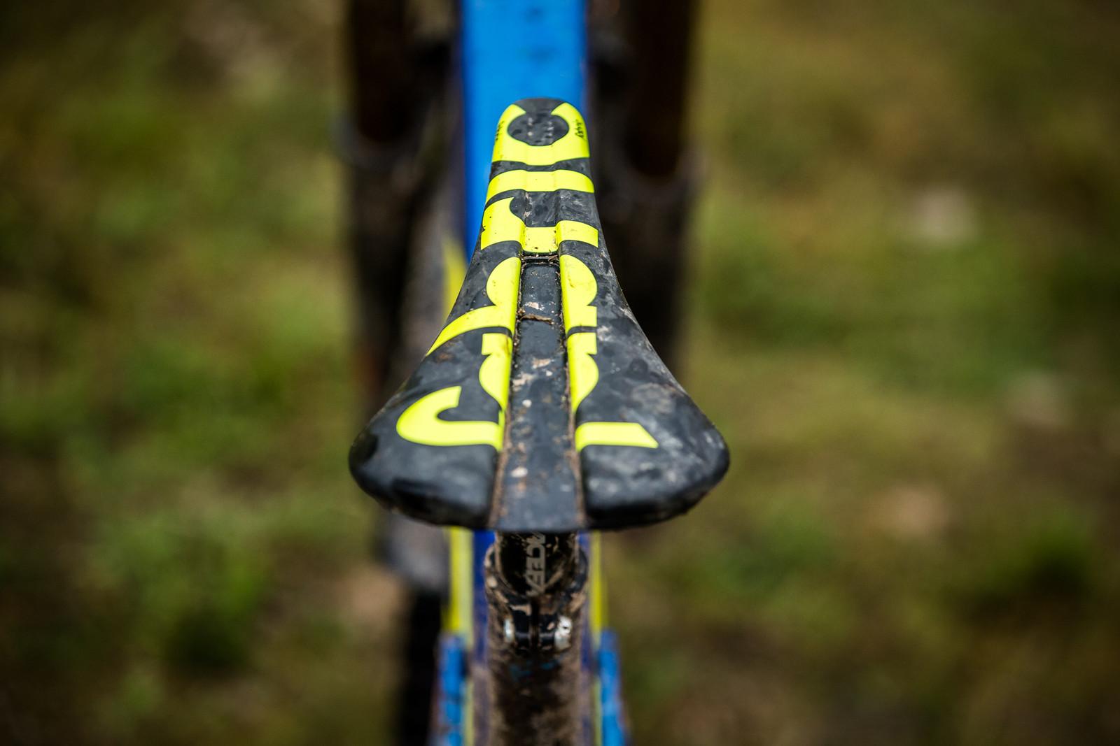 Fabric Saddle - WINNING BIKE - Martin Maes' GT Fury - Mountain Biking Pictures - Vital MTB