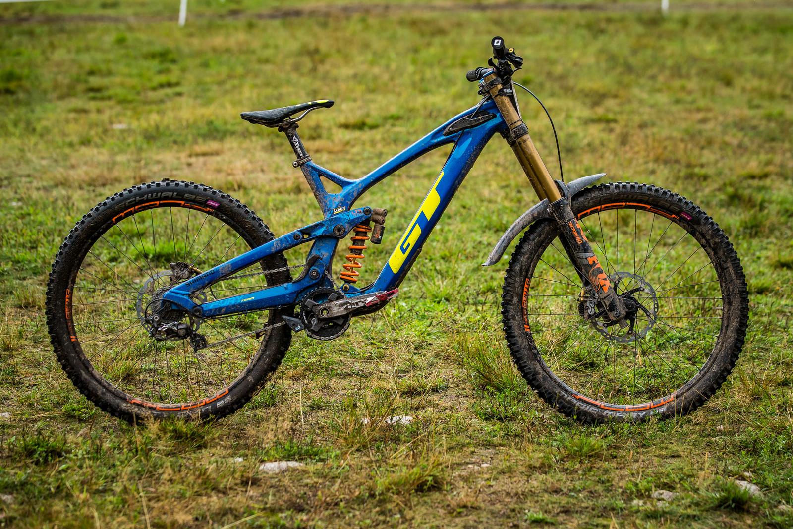 WINNING BIKE - Martin Maes' GT Fury - WINNING BIKE - Martin Maes' GT Fury - Mountain Biking Pictures - Vital MTB