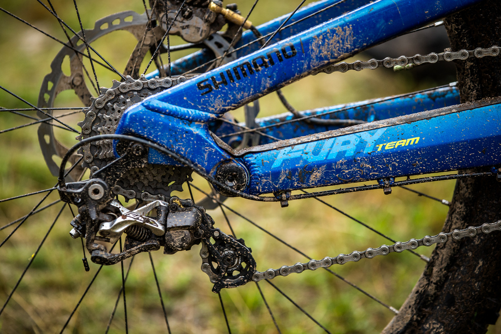 Shimano Saint Drivetrain - WINNING BIKE - Martin Maes' GT Fury - Mountain Biking Pictures - Vital MTB