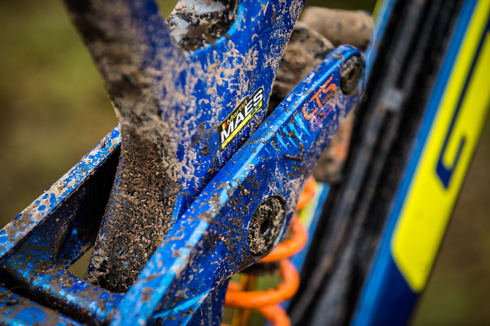 Da Winnah - WINNING BIKE - Martin Maes' GT Fury - Mountain Biking Pictures - Vital MTB