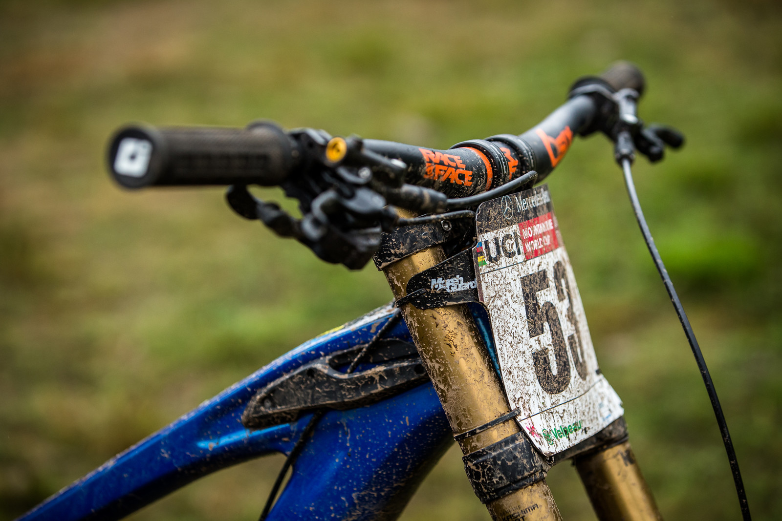 Race Face SixC Bars - WINNING BIKE - Martin Maes' GT Fury - Mountain Biking Pictures - Vital MTB