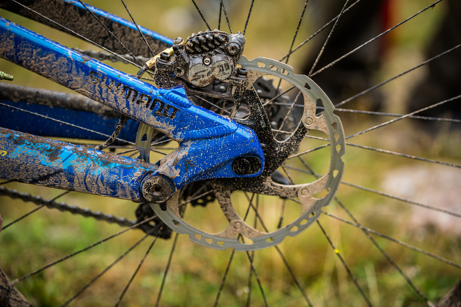Shimano Saint Brakes - WINNING BIKE - Martin Maes' GT Fury - Mountain Biking Pictures - Vital MTB