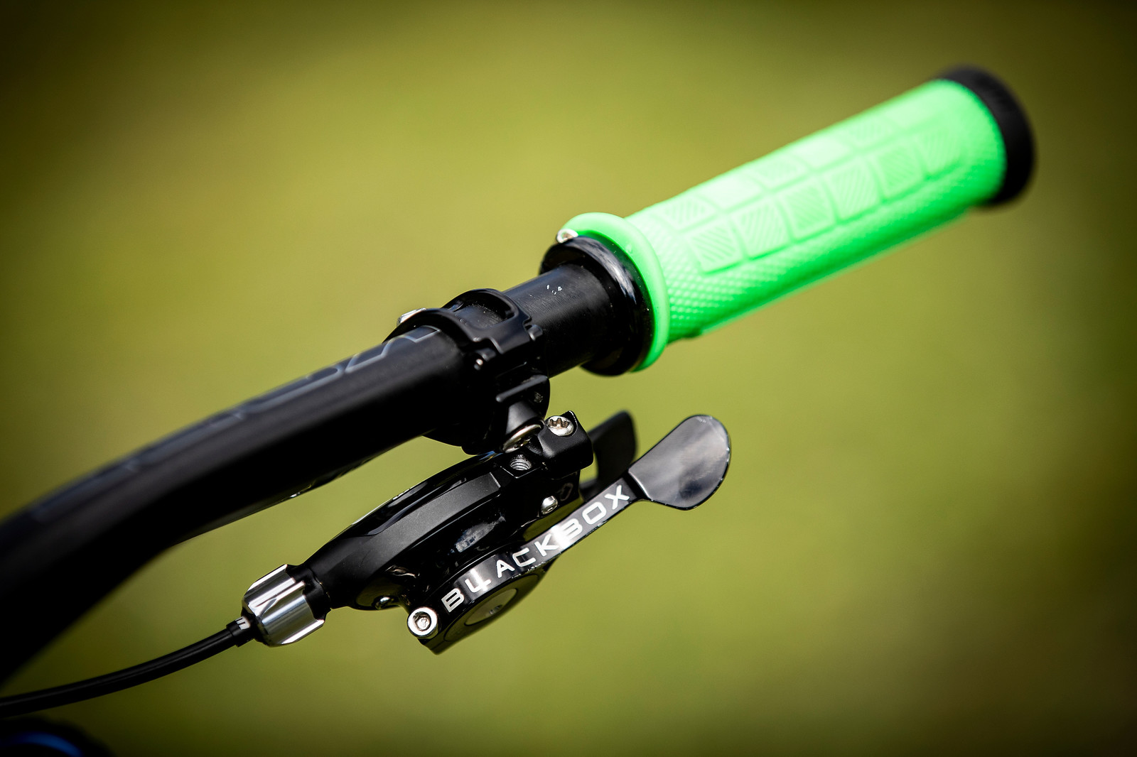 Green Grip Goodness - WORLD CHAMPS BIKE - Connor Fearon's Kona Operator - Mountain Biking Pictures - Vital MTB